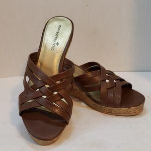 Montego Bay Club sandals size 9W